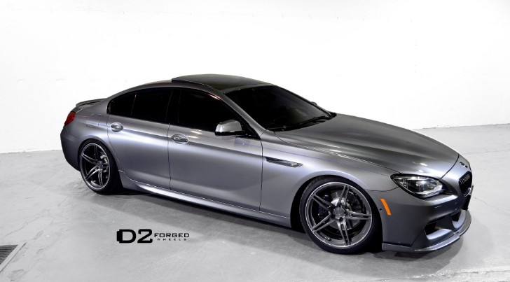 BMW 6 Series Gran Coupe Rides on Monoblock Wheels [Photo Gallery]