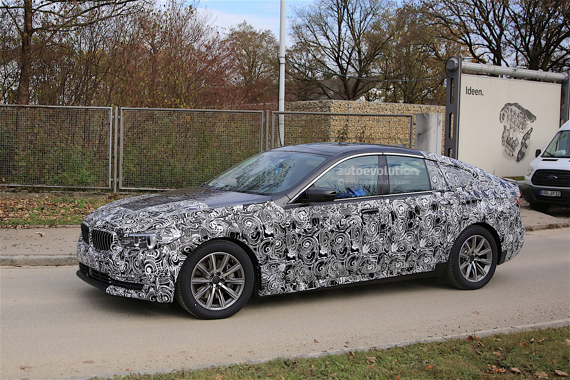 bmw 6 series gt spied again more design features are visible autoevolution. Black Bedroom Furniture Sets. Home Design Ideas