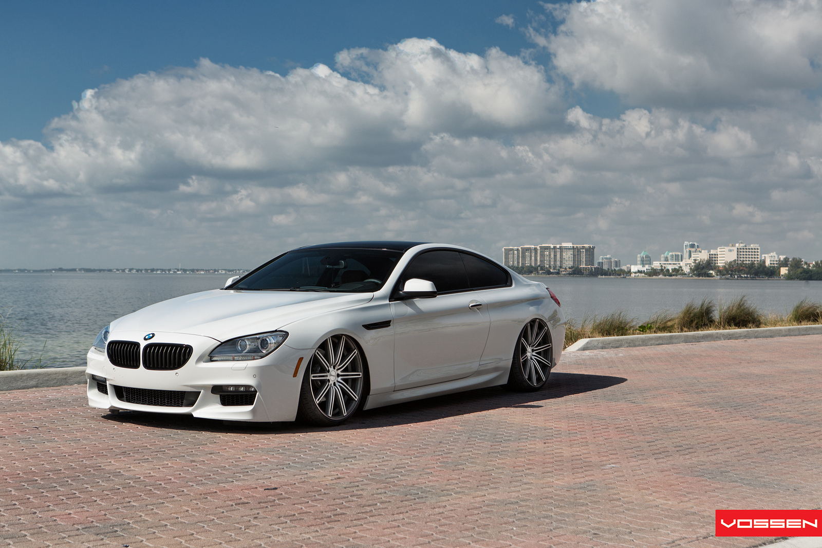 Bmw 6 Series On Vossen Cv4 Wheels Is Almost A Low Rider