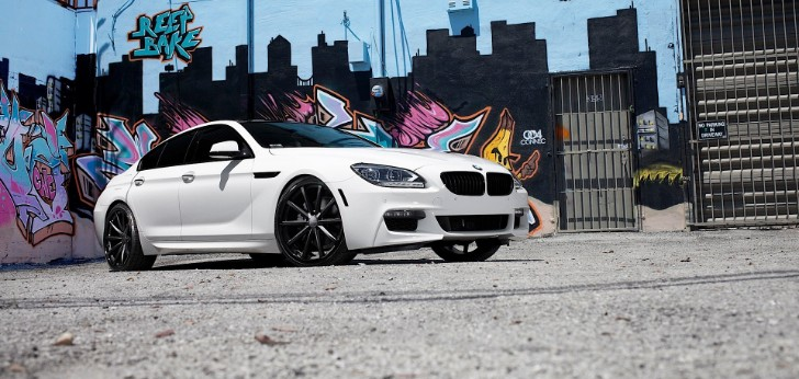 BMW 650i Gran Coupe Shows Off Cool Kicks from Vossen [Photo Gallery]