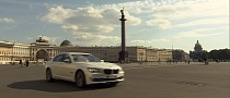 BMW Takes 7-Series to St.Petersburg [Video]
