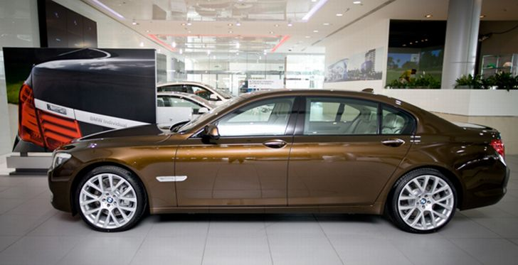 BMW 7-Series UAE Edition Coming to Dubai Motor Show 2011