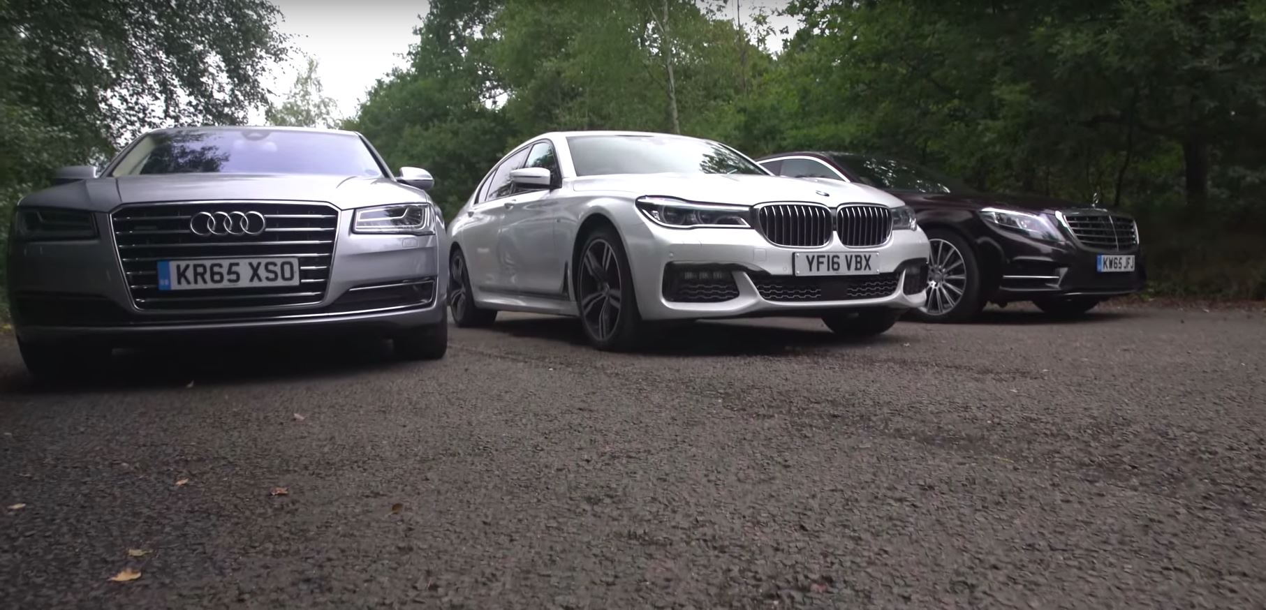 BMW 7 Series Vs Mercedes S Class Audi A8 2017 Luxury Limo Test Has UK Twist