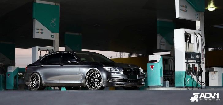 BMW 730Li on ADV.1 Wheels Wears Some Alpina Bits [Photo Gallery]