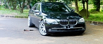 BMW 730Li Rides on ADV.1 Wheels [Photo Gallery]