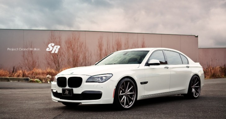 BMW 750Li Project Grand Walker Sports Vossen CV1 Concaves [Photo Gallery]