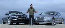 BMW 750Li Takes on Jaguar XJL in Head 2 Head [Video]