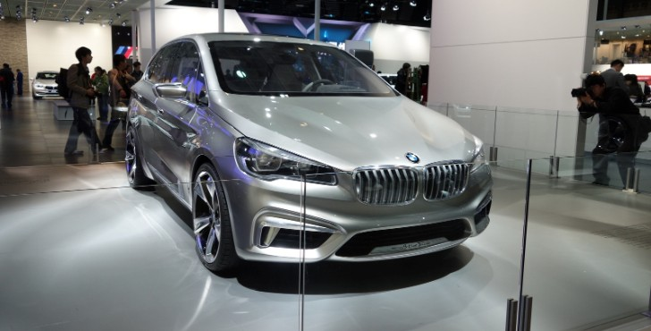 BMW Active Tourer Concept Makes Asian Debut at Shanghai