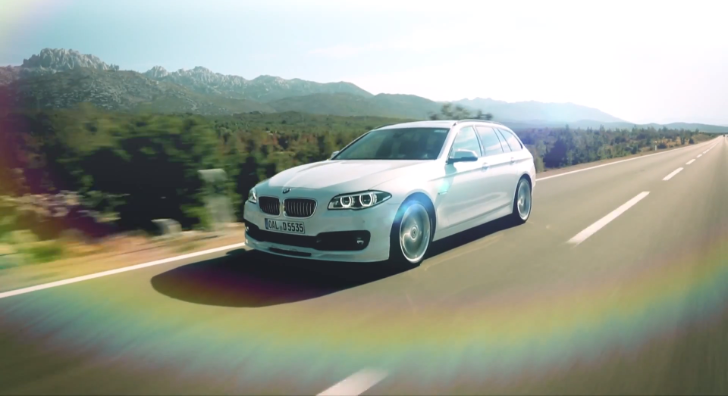 BMW Alpina D5 Biturbo LCI Launch Clip [Video]