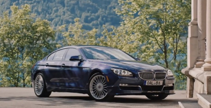 bmw alpina b6 biturbo gran coupe gets a first commercial. Black Bedroom Furniture Sets. Home Design Ideas