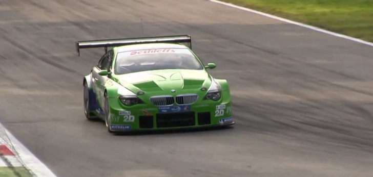 BMW Alpina B6 GT3 On Track [Video]