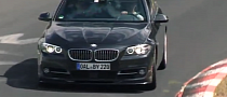 BMW Alpina B5 S Biturbo Testing at the Nurburgring [Video]