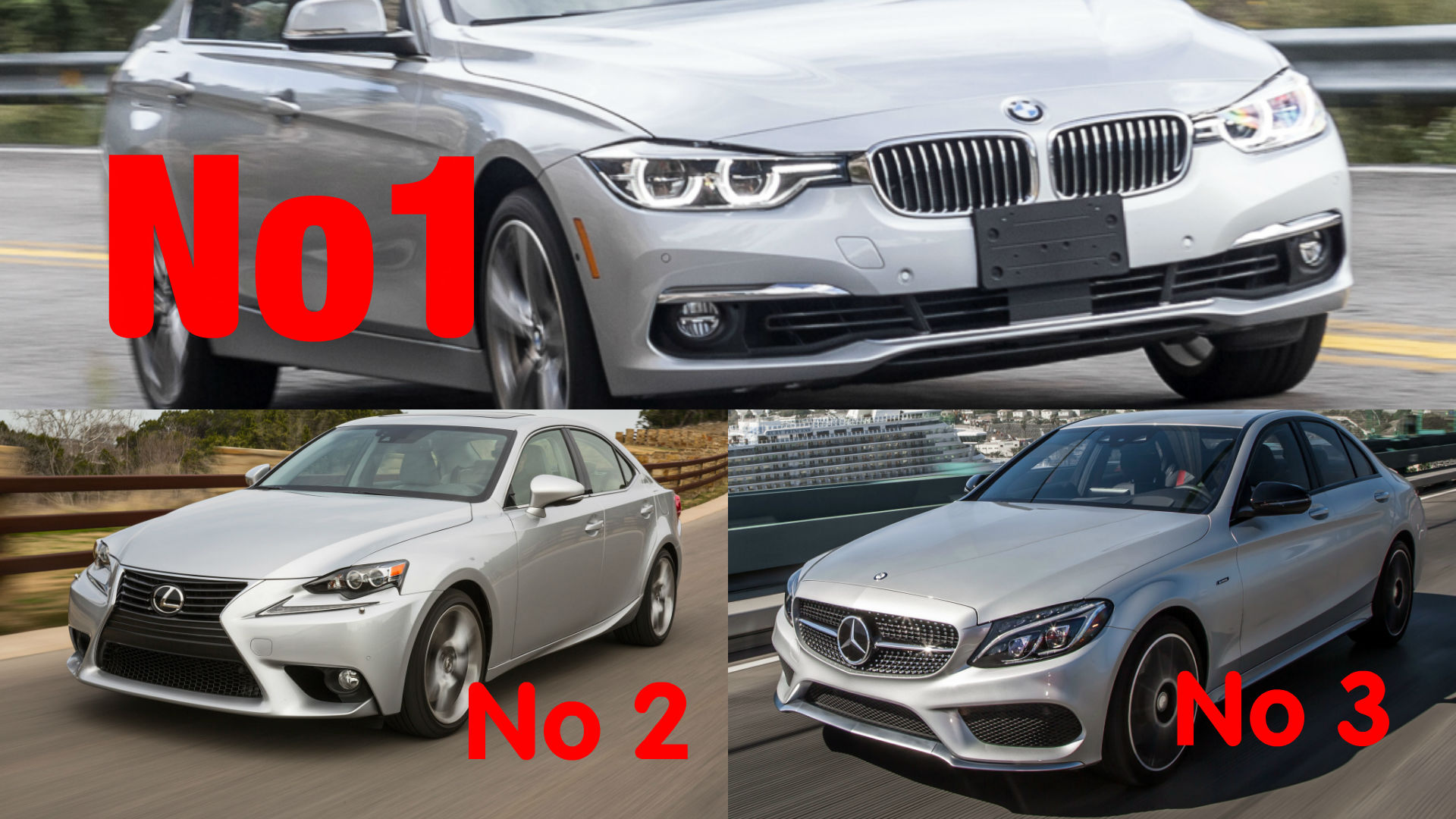 BMW and Lexus Pass Mercedes-Benz in 2015 U.S. Sales, but the Race Is ...