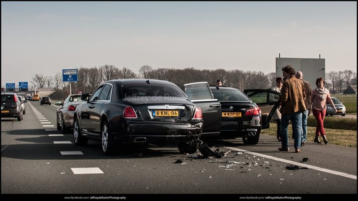 Bmw And Rolls Royce Crash On The Way To Need For Speed