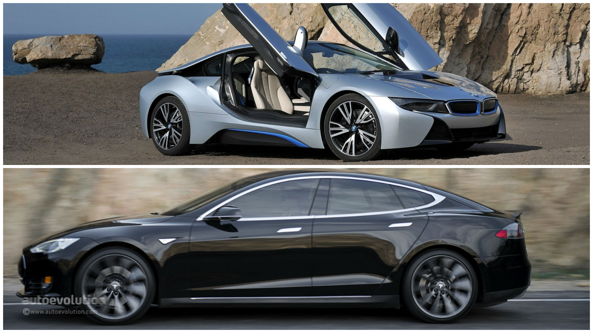 bmw and tesla met up to discuss the future of electric cars autoevolution. Black Bedroom Furniture Sets. Home Design Ideas