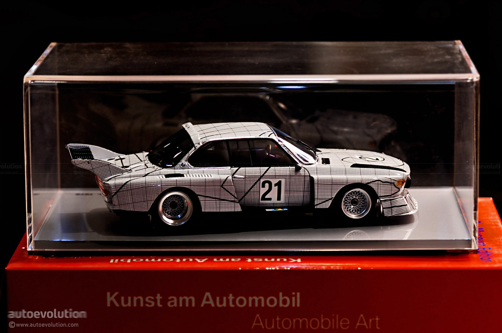 bmw art and music the art car project in miniature autoevolution. Black Bedroom Furniture Sets. Home Design Ideas