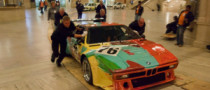 BMW Art Cars on Display at New York