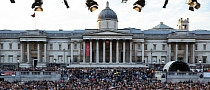 BMW Brings Thousands of People to Trafalgar Square for Open Air Classics