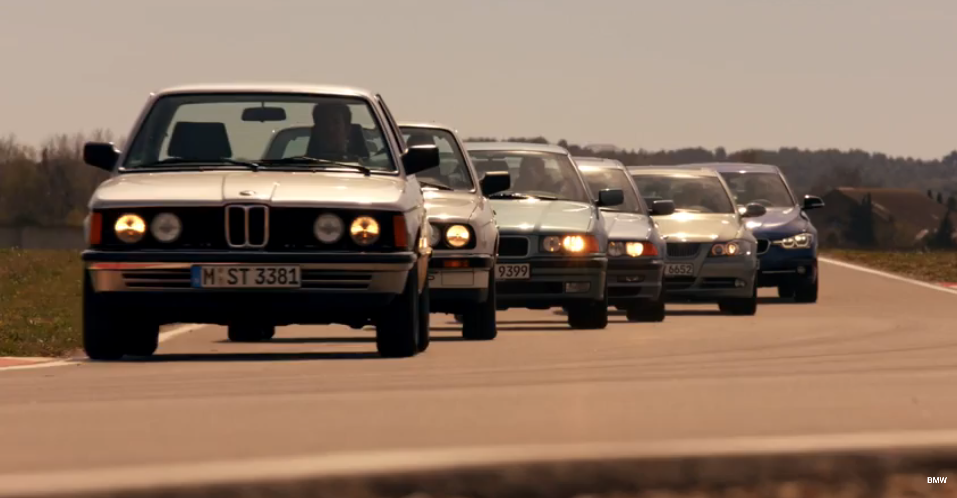BMW Celebrates Th Anniversary Of The Series With A Special - Bmw 3 series special edition
