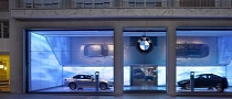 BMW Celebrates Opening of Brand Store in Paris
