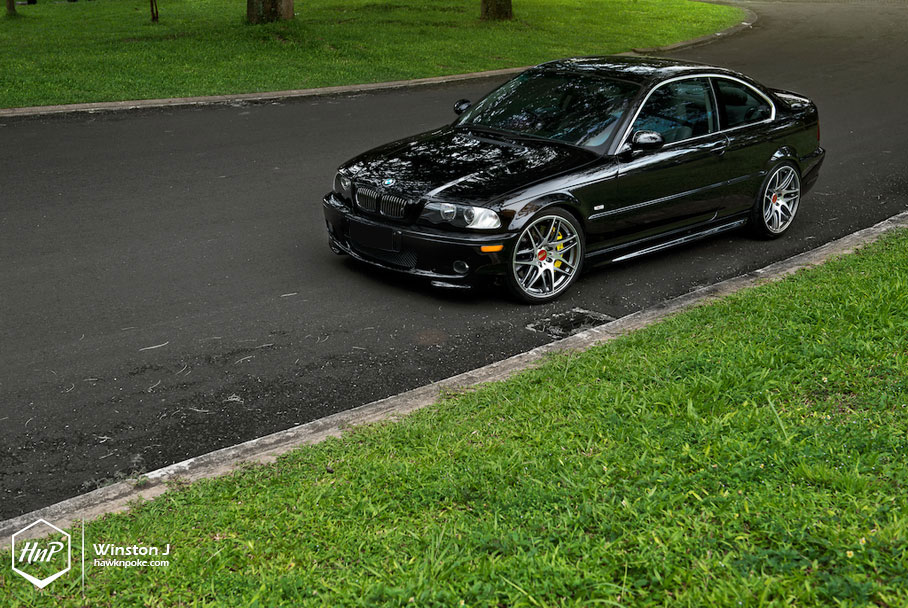 Bmw Class On Bbs Wheels E46 325ci Autoevolution