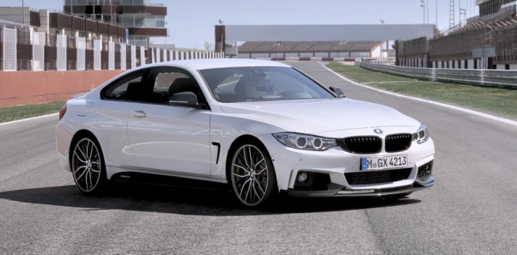 BMW Commercial: M Performance Parts for the 4 Series Coupe [Video]