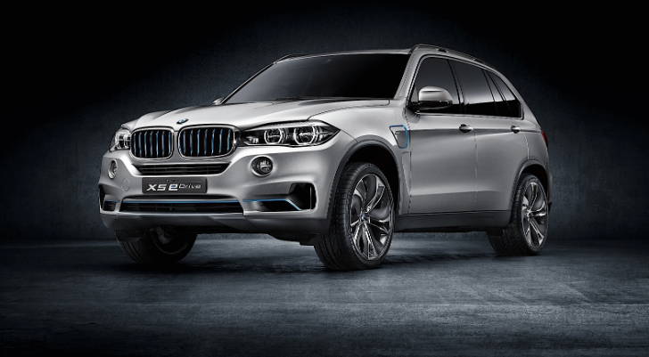 BMW Concept5 X5 eDrive: The Bavarian Hybrid SAV