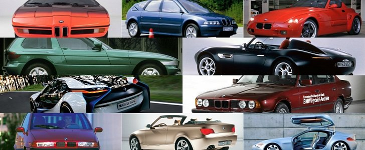 Bmw Concepts That Previewed Production Models Autoevolution