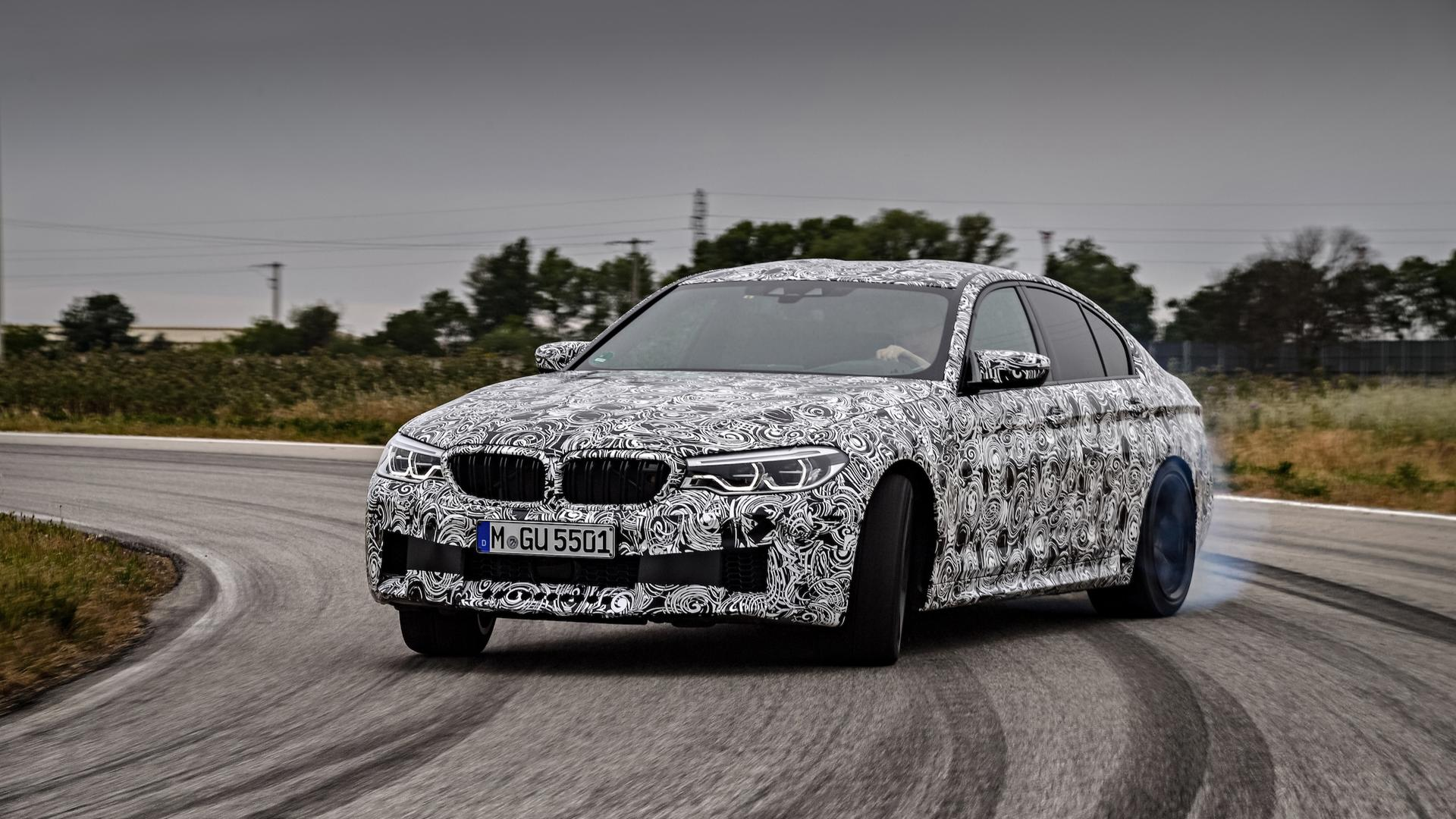 bmw confirms m xdrive 4 4 liter twin turbo v8 8 speed automatic for f90 m5 autoevolution. Black Bedroom Furniture Sets. Home Design Ideas
