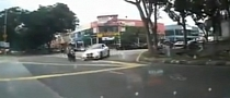 BMW Driver in Hit & Run Scooter Crash [Video]