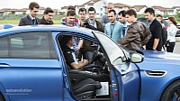 Claudiu David, BMW Driving Trainer gets attention