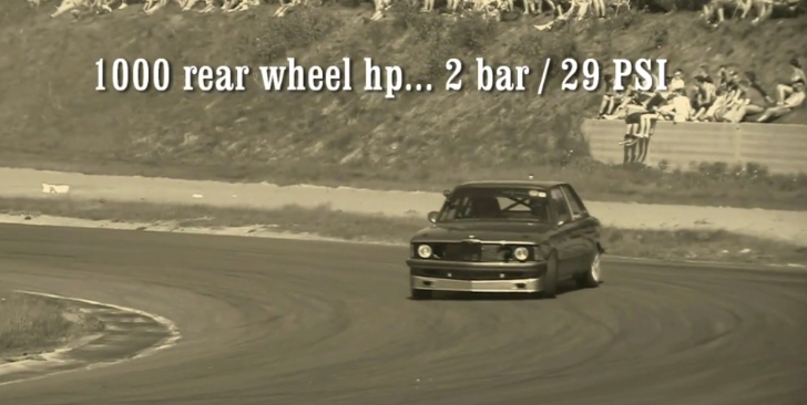 BMW E21 3 Series Drifts with 860 WHP [Video]