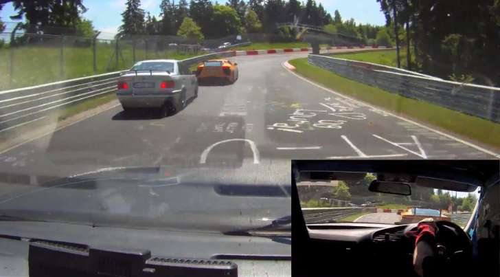 BMW E30 318is Races an E36 328i On the Nurburgring [Video]