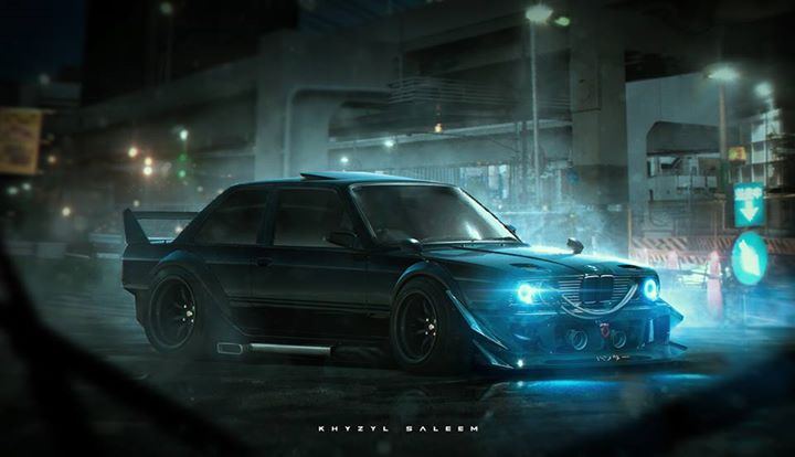 Bmw E30 M3 Gets Jdm Treatment In Hardcore Rendering Autoevolution