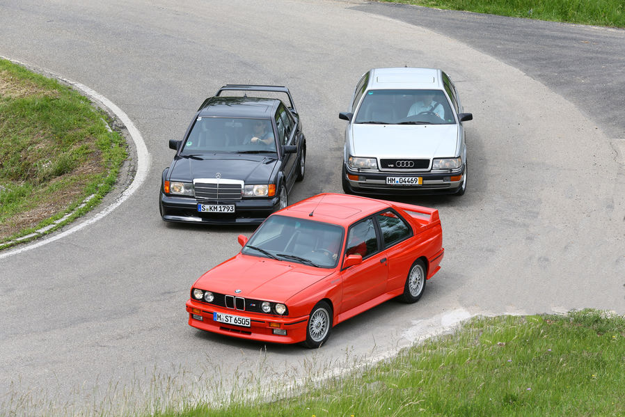 BMW E30 M3 vs Audi V8 vs MB 190 E  The DTM Heroes - autoevolution