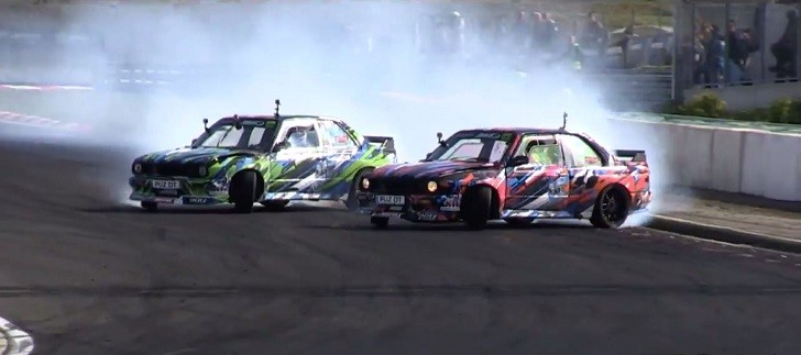 BMW E30 M3 Wins Hungarian Stage of King of Europe ProSeries Drift Competition [Video]