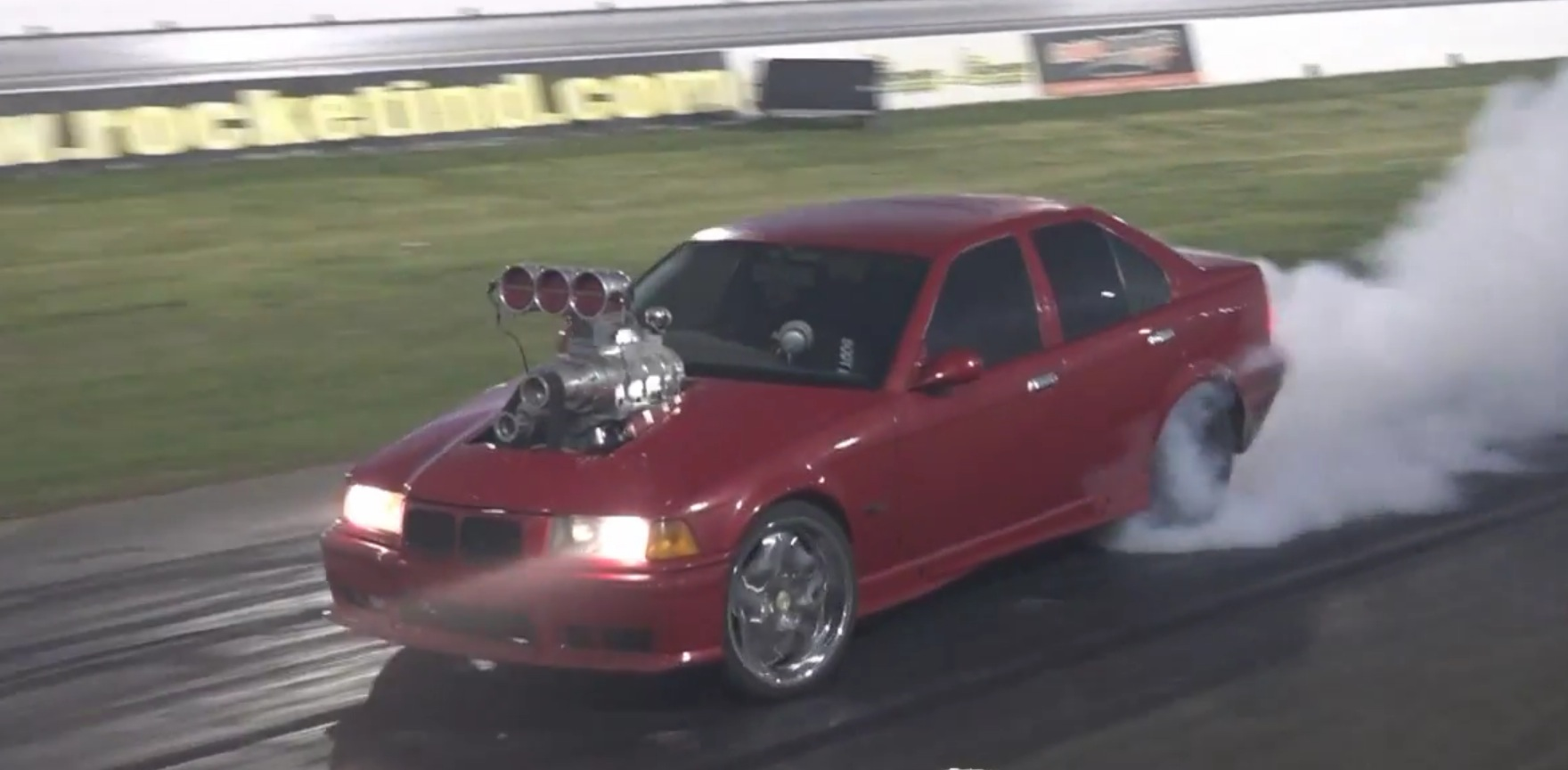 Bmw E36 3 Series Gets Monster Supercharged V8 Engine Swap
