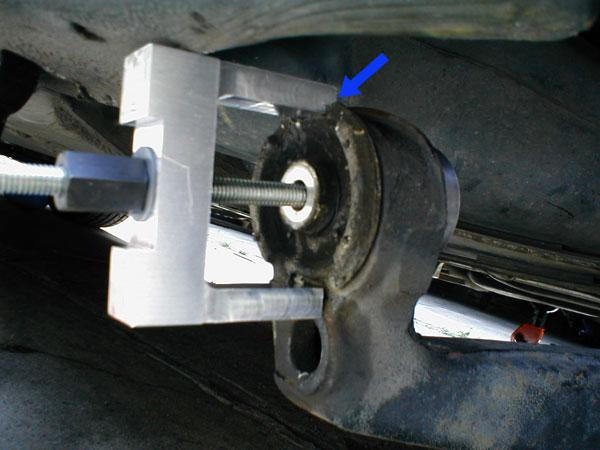 E46 Trailing Arm Bushing Tool
