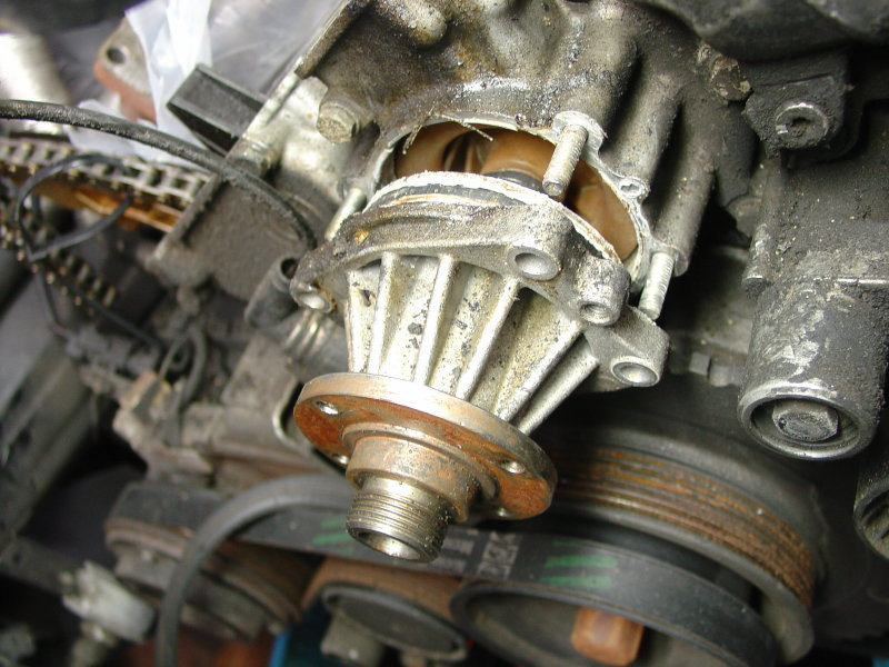 Bmw E Series Water Pump Replacement Diy on Bmw 323i Water Pump