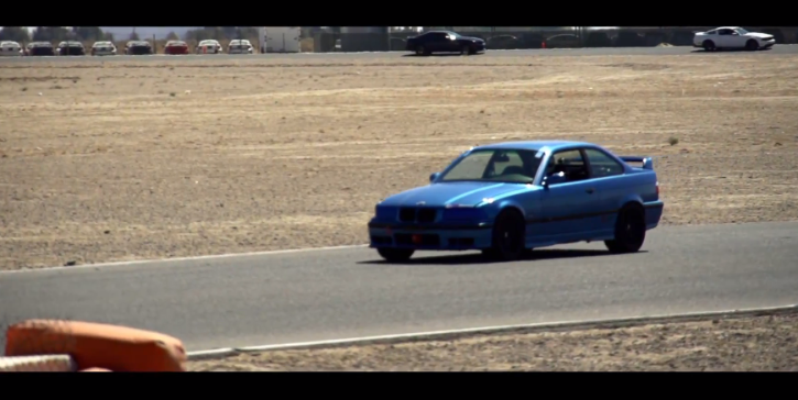 BMW E36 M3 at Willow Springs [Video]