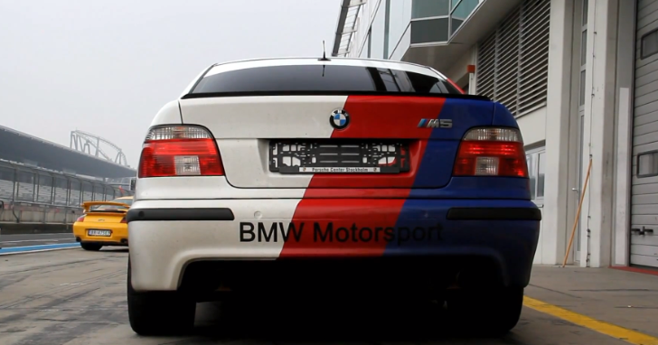 BMW E39 M5 Sounds Amazing on the Nurburgring [Video]