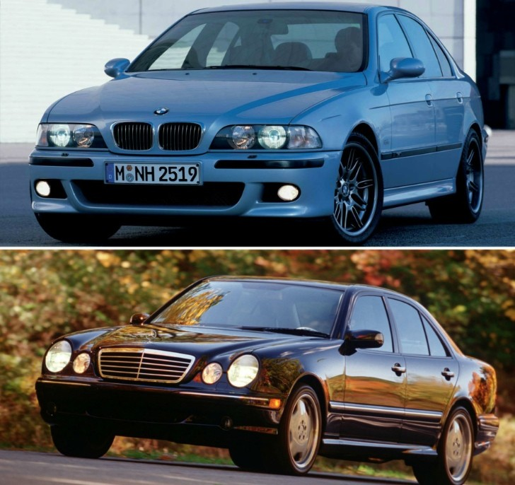 bmw e39 m5 vs mercedes benz e55 amg w210 acceleration comparison autoevolution. Black Bedroom Furniture Sets. Home Design Ideas