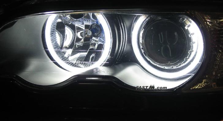 Diy Angel Eyes E46 Bmw E46 3 Series Angel-eyes