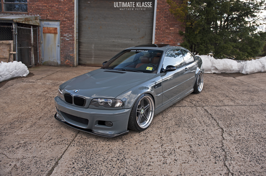 bmw e46 m3 gets ferrari grigio medio paint job a one off car autoevolution. Black Bedroom Furniture Sets. Home Design Ideas