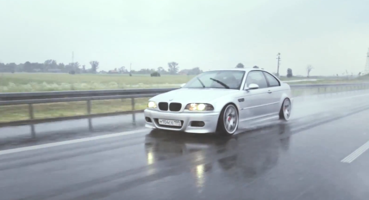 BMW E46 M3 Leads Pack of Slammed Cars from Russia to Poland [Video]