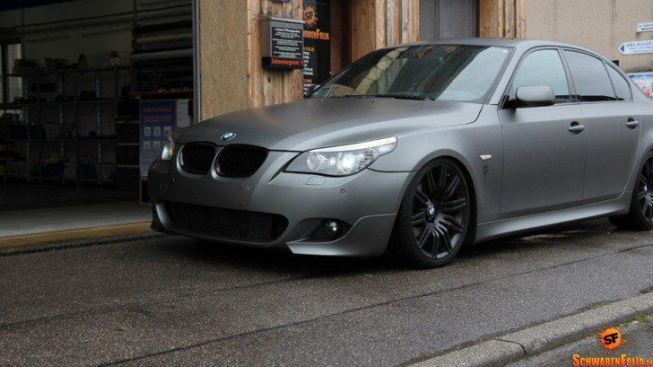 BMW E60 5 Series Wears Frozen Tungsten [Photo Gallery]