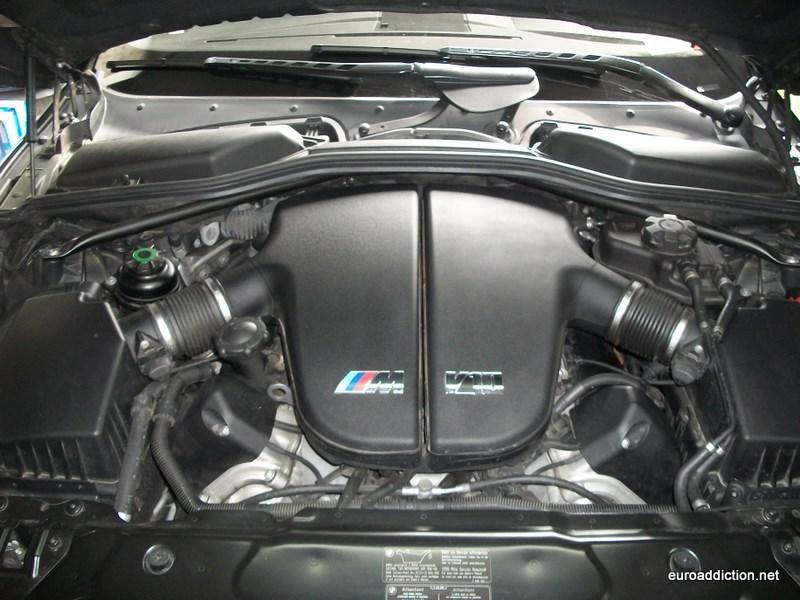 Bmw E60 M5 Air Filter Replacement Diy Autoevolution