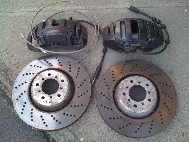 Bmw E60 M5 Front Rotors Replacement Diy Autoevolution
