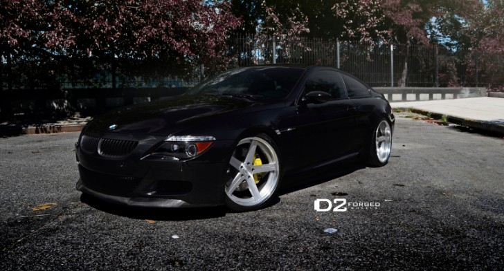BMW E63 M6 Looks Like the Grim Reaper [Photo Gallery]