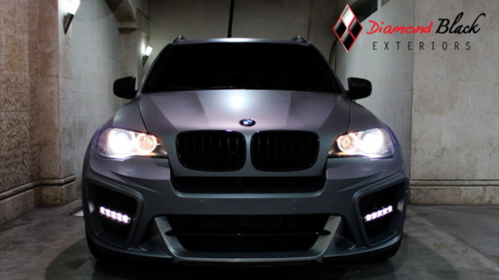 Performance Auto Body >> BMW E70 X5 Typhoon in Matte Silver Grey - autoevolution